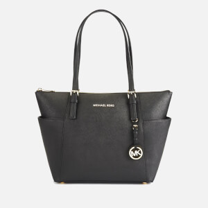 MICHAEL MICHAEL KORS Women's Jet Set Item East West Tote Bag - Black