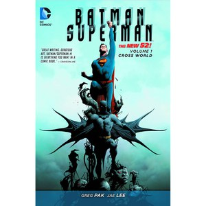 DC Comics Batman Superman Vol 01 Cross World (N52) (Bildroman)