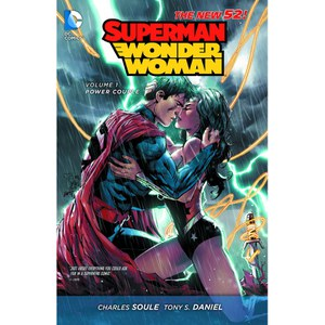 DC Comics Superman Wonder Woman Volume 01 Power Couple (The New 52) Paperback