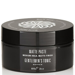 Gentlemen's Tonic Hair Styling Mattierende Paste (85g)