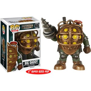 BioShock Big Daddy 6 Inch Super Sized Pop! Vinyl Figure