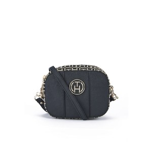 Tommy Hilfiger Women's Louise Mini Crossbody Bag - Black/Khaki