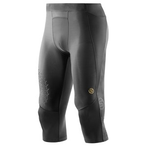 Skins A400 Men's Starlight 3/4 Compression Tights - Black