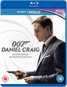 Daniel Craig 007 Double Pack - Casino Royale / Quantum of Solace (+UV)
