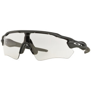 Oakley Radar EV Path Photochromic Sunglasses - Steel/Clear Black Iridium