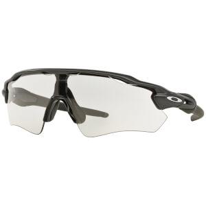 Oakley Radar EV Path Photochromic Sunglasses - Steel/Clear Black Iridium