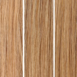100% Remy Colour Swatch de Beauty Works - Blonde Bundle