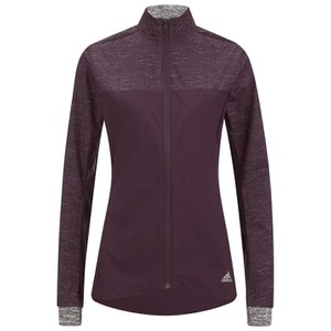 adidas Women's Supernova Storm Running Jacket - Burgundy
