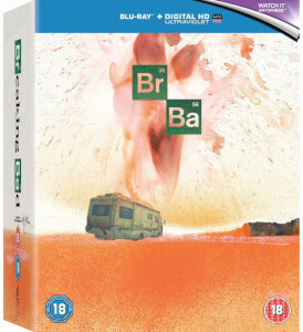 Breaking Bad - The Complete Series - Zavvi Exclusive Limited Edition Steelbook (Limited to 2000 Copies) (UK EDITION)