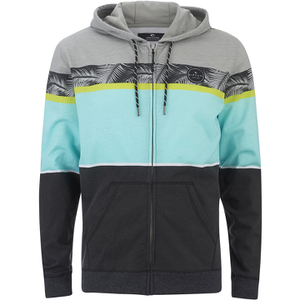 Rip Curl Men's Aggro Union Zip Through Hoody - High Rise Grey