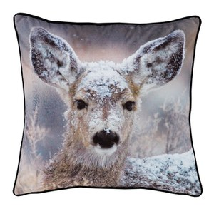 Catherine Lansfield Filled Oh Deer Cushion - Multi