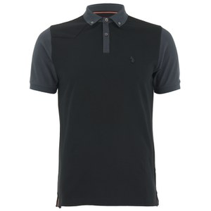 Luke 1977 Men's Terry The Doorman Polo Shirt - Black