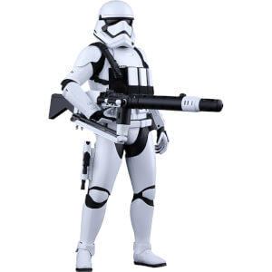 Hot Toys Star Wars 1:6 First Order Heavy Gunner Stormtrooper Figure