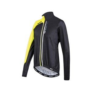 Santini Guard 2.0 Waterproof Windbreaker Jacket - Black/Yellow