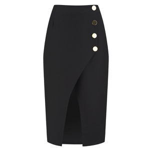C/MEO COLLECTIVE Women's City Sounds Skirt - Black