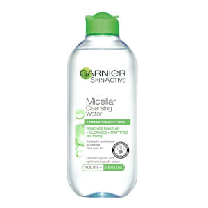 Garnier Micellar Water Facial Cleanser and Makeup Remover for Combination Skin 400ml