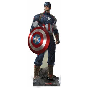Marvel Avengers Age of Ultron Captain America Cut Out