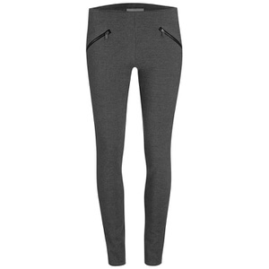 Vero Moda Women's Paco Leggings - Dark Grey Melange
