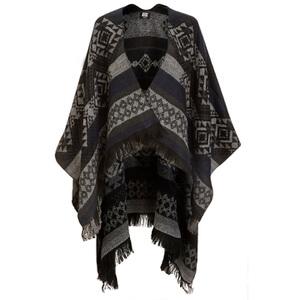 Vero Moda Women's Rilla Poncho - Black Iris
