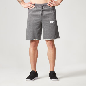 Myprotein Men's Cut Off Shorts with Zip Pockets - Dark Grey