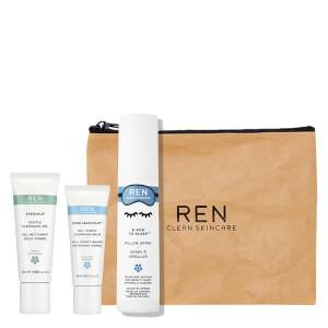 REN Clean Skincare Overnight Set (Free Gift)