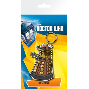 Doctor Who Dalek Illustration - Keychain