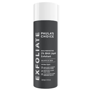 Exfoliante líquido 2 % BHA Skin Perfecting de Paula's Choice (118 ml)