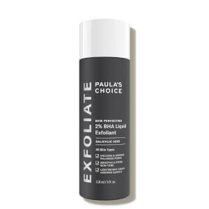 Exfoliante líquido 2 % BHA Skin Perfecting de Paula's Choice (118 ml)