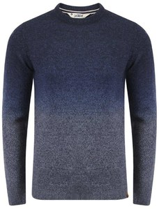 Tokyo Laundry Men's Saw Space Dye Jumper - True Navy