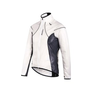 Santini Ice 2 Packable Spray Jacket - Transparent/Black