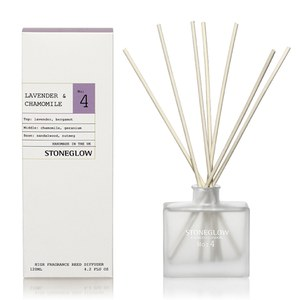 Stoneglow Modern Apothecary No. 4 Reed Diffuser - Lavender and Chamomile