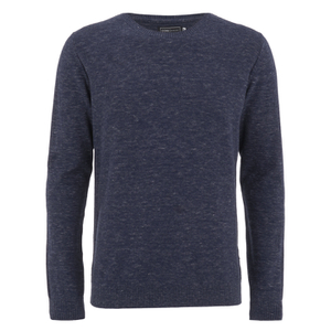Jack & Jones Men's Durwin Jumper - Navy Blazer