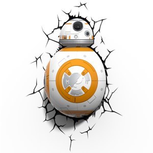 Lampe 3D Star Wars BB-8