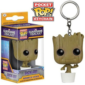Llavero Pocket Pop! Baby Groot - Guardianes de la Galaxia