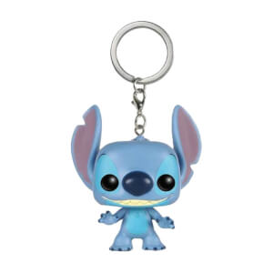 Disney Lilo And Stitch Stitch Pocket Funko Pop! Keychain