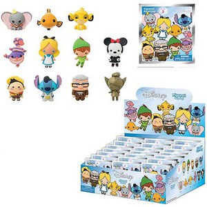 Disney Series 3 Figural Foam Mini-Figure Key Chain