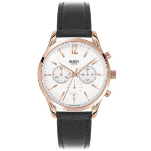 Henry London Richmond Watch - Black/Gold
