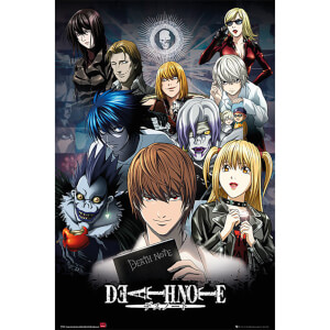 Deathnote Collage - 24 x 36 Inches Maxi Poster