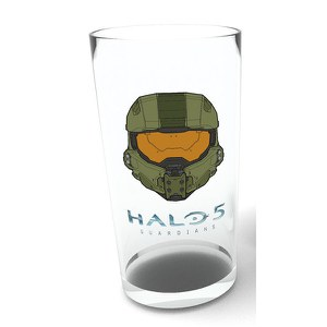 Halo 5 Mask - Pint Glass