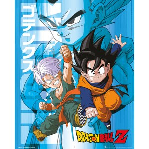 Dragon Ball Z Trunks And Goten - 16 x 20 Inches Mini Poster