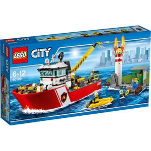 LEGO City: Brandweerboot (60109)