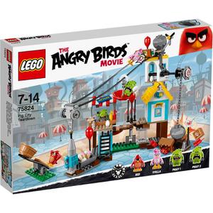 LEGO Angry Birds: Demolición de Ciudad Cerdo (75824)