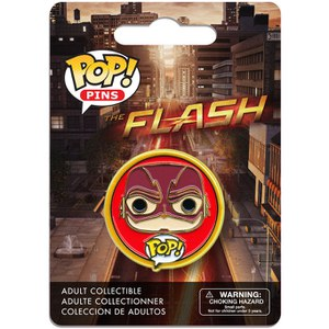 DC Comics POP! Pins Ansteck-Button The Flash TV Ver.