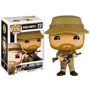 Figura Pop! Vinyl Capitán John Price - Call of Duty