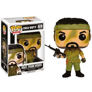 Call of Duty MSgt. Frank Woods Funko Pop! Vinyl Figur