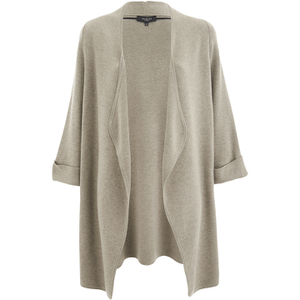 Selected Femme Women's Kiri Knitted Cardigan - Silver Cloud