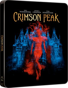 Crimson Peak - Zavvi exklusives Limited Edition Steelbook (Limitiert auf 3000 Kopien) Blu-ray
