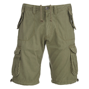 Brave Soul Men's George Cargo Shorts - Khaki