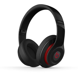 Beats by Dr. Dre Studio 2 Wireless Noise Cancelling Headphones - Black/Red Trim