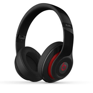 Beats by Dr. Dre Studio 2 Over-Ear Headphones - Black/Red Trim